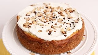 Amaretti Cheesecake Recipe - Laura Vitale - Laura In The Kitchen Episode 695
