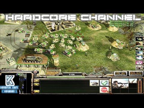 Command & Conquer Generals: Zero Hour - прохождение - Hardcore - ГЛА =5= Свобода! Финал