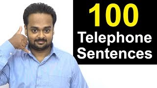 learn telephone english 100 sentences you can use on the phone how to talk on the phone