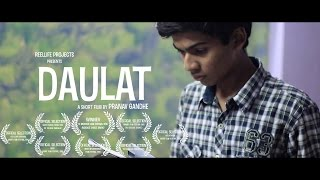 DAULAT | Award Winning Hindi Short Film | 48HFP | Mumbai,Maharashtra,India|ReelLife Projects|2015
