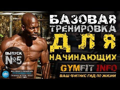ГАННИБАЛ КИНГ. БАЗОВАЯ тренировка для НАЧИНАЮЩИХ по CALISTHENICS. (С собственным весом) #GymFit INFO