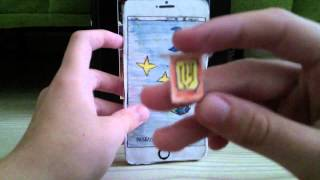обзор на i phone 6 из бумаги и картона