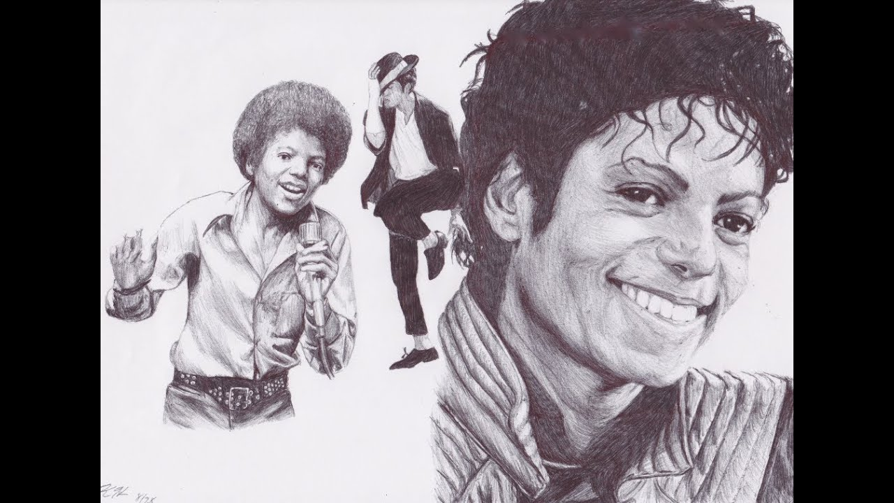 Michael Jackson Drawing - YouTube