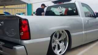 Ground zero is r limit  bagged Silverado SS on billet rims
