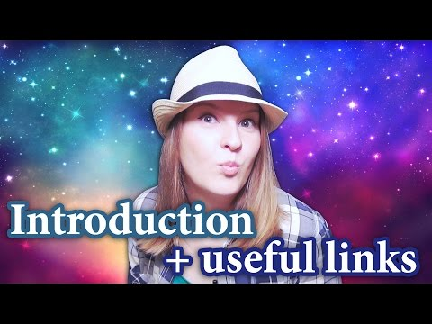 Channel introduction + useful links: Antonia Romaker - English and Russian online