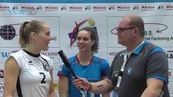 VCW TV: Stimmen zum Spiel VC Wiesbaden - Ladies in Black Aachen (DVL, 14. Spieltag, 29.01.2014)