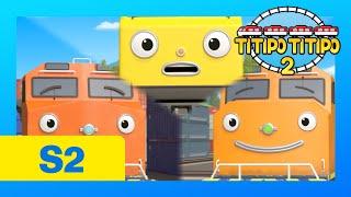 [НОВЫЙ] мультфильмы для детей l Титипо Сезон 2 русский l #6 Великолепный товарный поезд, Локо