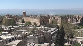 Baalbek بعلبك in the Beqaa Valley وادي البقاع - Lebanon لبنان