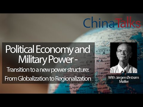 ChinaTalks Lecture: Political Economy and Military Power. Transition to a new power structure.