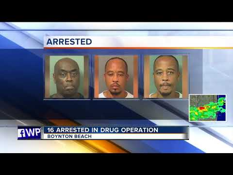 16 arrested in Boynton Beach drug sting
