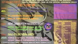 Dj 007 Uprising 25 07 97 Paul-O's Birthday