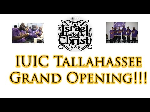 The Israelites: IUIC Tallahassee School Grand Opening!!!
