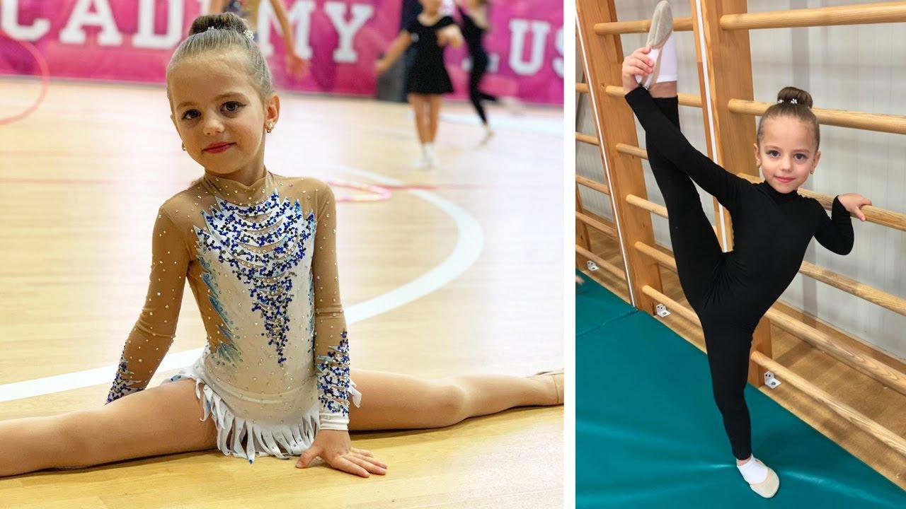 Моё ПЕРВОЕ выступление по художественной гимнастике Первая НАГРАДА макияж и новый наряд