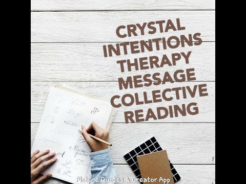 🐎 CRYSTAL INTENTIONS THERAPY MESSAGE 🐎 YOU HAVE 📖 A STORY TO SHARE 📖