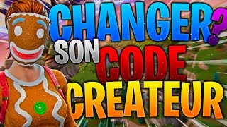 HOW DO YOU CHANGE YOUR CREATIVE CODE? HOW to DO IT? FORTNITE BATTLE ROYALE