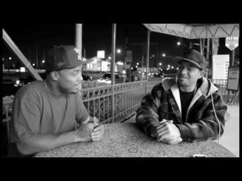 YG Hootie DubCNN.com Interview at Tams Burgers (October 2014)