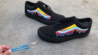 HOW TO CUSTOMIZE YOUR BLACK VANS