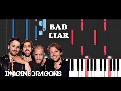 Imagine Dragons - Bad Liar (Piano Tutorial)