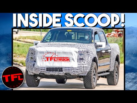 TFL EXCLUSIVE: Here\'s What\'s Under The 2021 Ford F-150 Raptor\'s Hood — Not One, But TWO Engines!