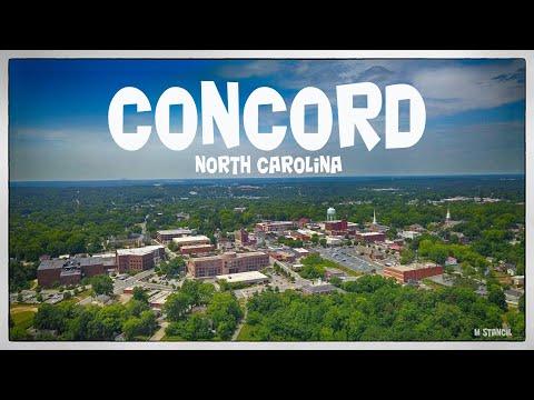 Concord, North Carolina (DJI Mavic Pro Footage)