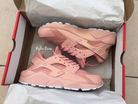 newest 0ceb6 2ac0d HOW TO  customize huaraches Rose gold (best customized huaraches)