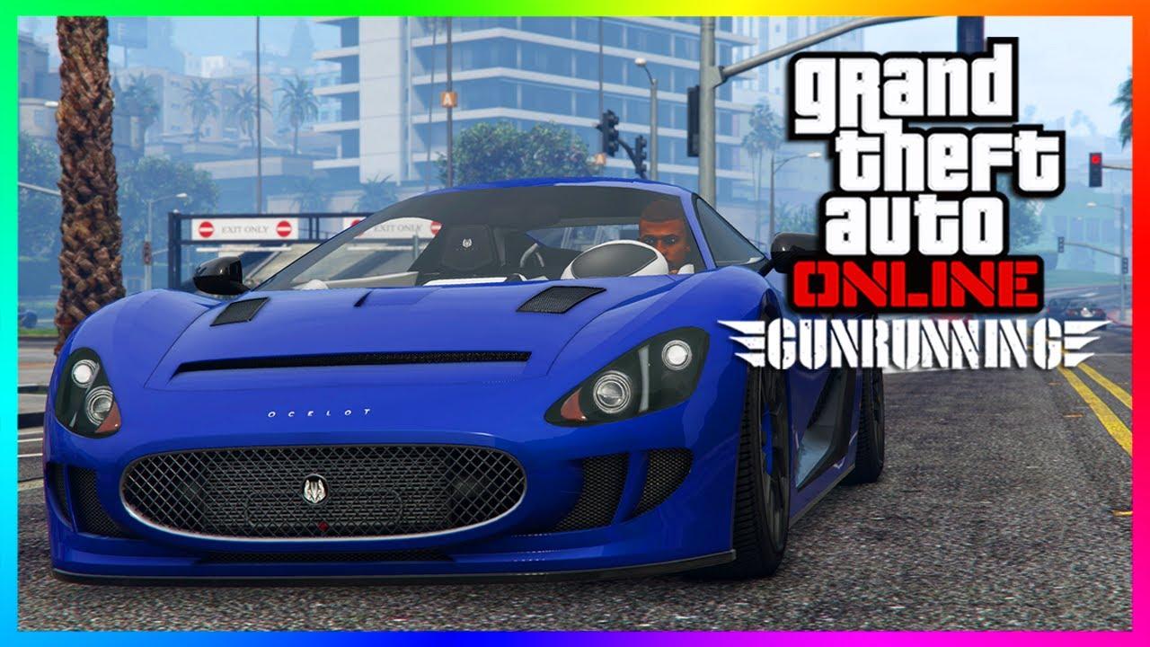 GTA ONLINE GUNRUNNING DLC - 8 NEW UNRELEASED VEHICLES/SUPER CARS - XA21, VAGNER, ARDENT & MORE!