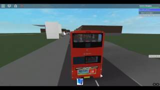 Roblox North London bus Simulator Using Gemini 2 Hybrid Stagecoach London on Rail Replacement