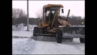 Снегоочистка в поселках в Белово(Февраль преподносит кузбассовцам немало сюрпризов. Резкие перепады температур, от плюсовой до тридцатигра..., 2014-02-27T02:42:28.000Z)
