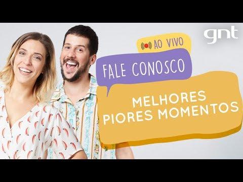 AO VIVO: Os melhores piores momentos do Fale Conosco com Júlia Rabello e Caio Braz | Fale Conosco