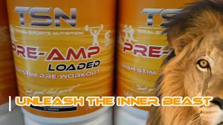NEW PRE-AMP LOADED PROMO | PRE-WORKOUT