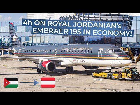 TRIPREPORT | Royal Jordanian Airlines (ECONOMY) | Embraer 195 | Amman - Vienna