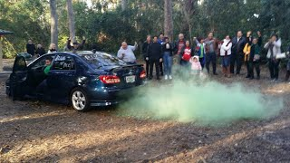 gender reveal how to smoke exhaust 06 xrs