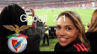 Primeira linha - Front row Benfica x Sporting Vlog