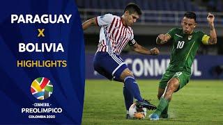 Paraguay 2-0 Bolivia   Preolímpico 2020