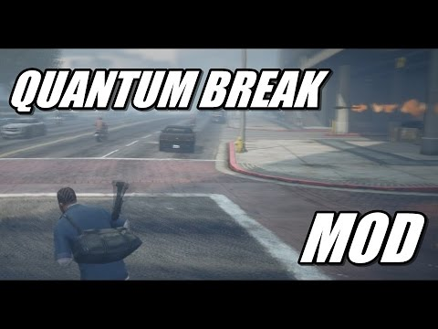 скачать мод Quantum Break на гта 5 на - фото 5