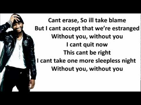 Usher - Without you LYRICS