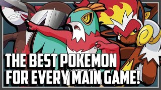 The BEST Pokemon From Every Main Series Game!