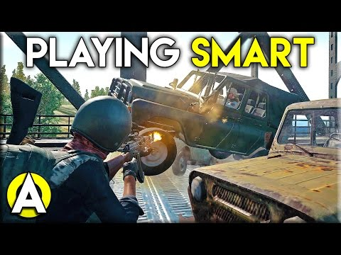 Playing Smart - PLAYERUNKNOWN\'S BATTLEGROUNDS (Solo gameplay)