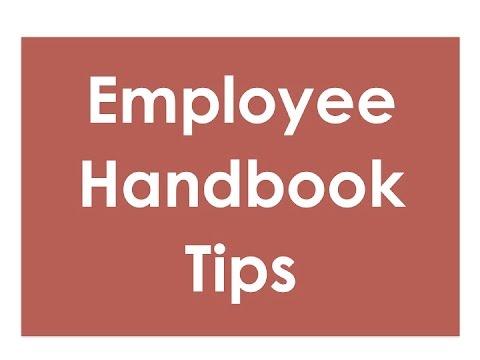 Employee Handbooks – What to Put in Them?