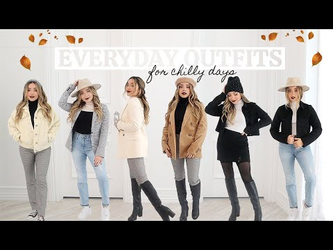 [VIDEO] - EASY EVERYDAY OUTFITS FOR FALL & WINTER | Lauren Cristine 2