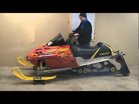 Can Am Renegade 800 >> 2003 Ski Doo MXZ 600 ho Renegade for sale EBAY low miles ...
