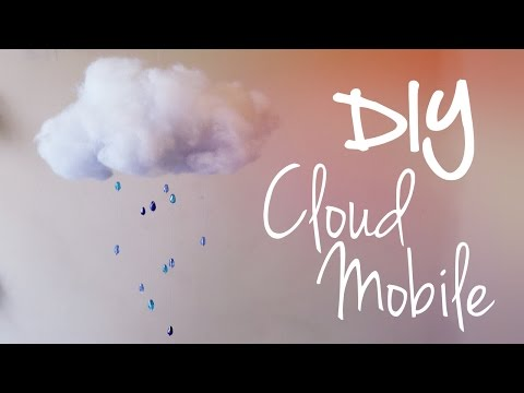 Cloud mobile ♥ DIY