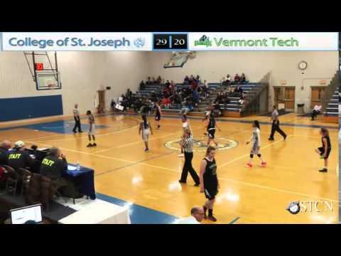 College of St. Joseph Women's Basketball vs. Vermont Tech