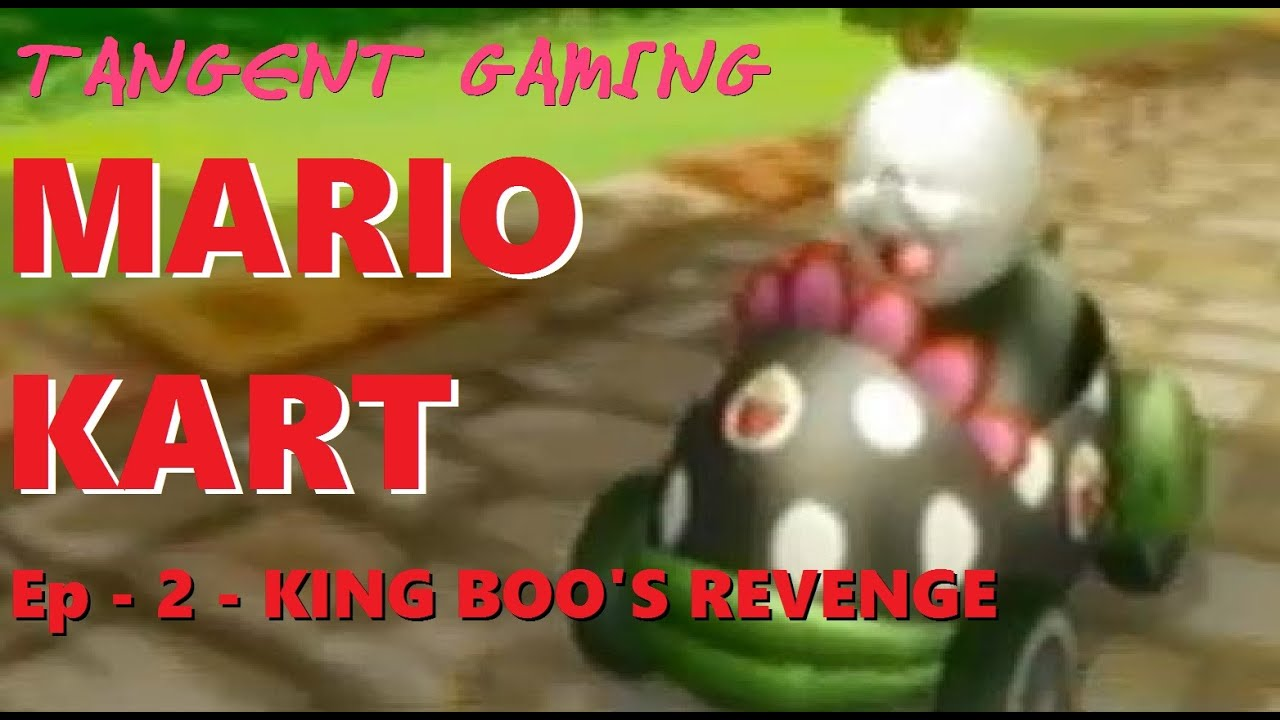 how to get king boo in mario kart wii
