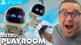 ASTRO'S PLAYROOM #1 | PLAYSTATION 5 GAMEPLAY | PS5 GAMEPLAY
