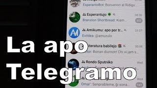 La apo Telegramo | Esperanto vlogo