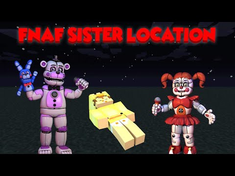 HOW TO BECOME AN FNAF SISTER LOCATION!! Baby Duck Minecraft Adventures
