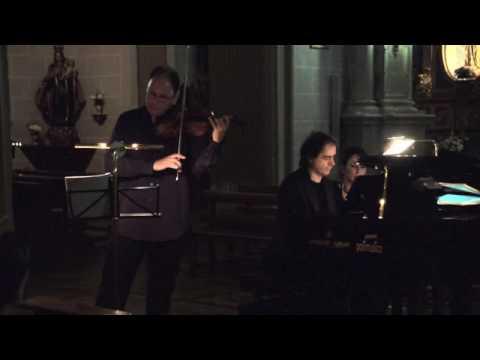 Vadim Tchijik & Alberto Urroz play Dvorak Sonatine Op.100