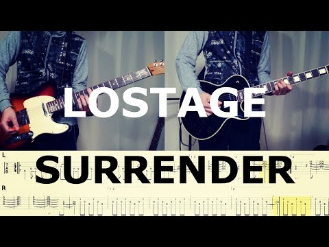 LOSTAGE - SURRENDER (Guitar Cover) with TAB