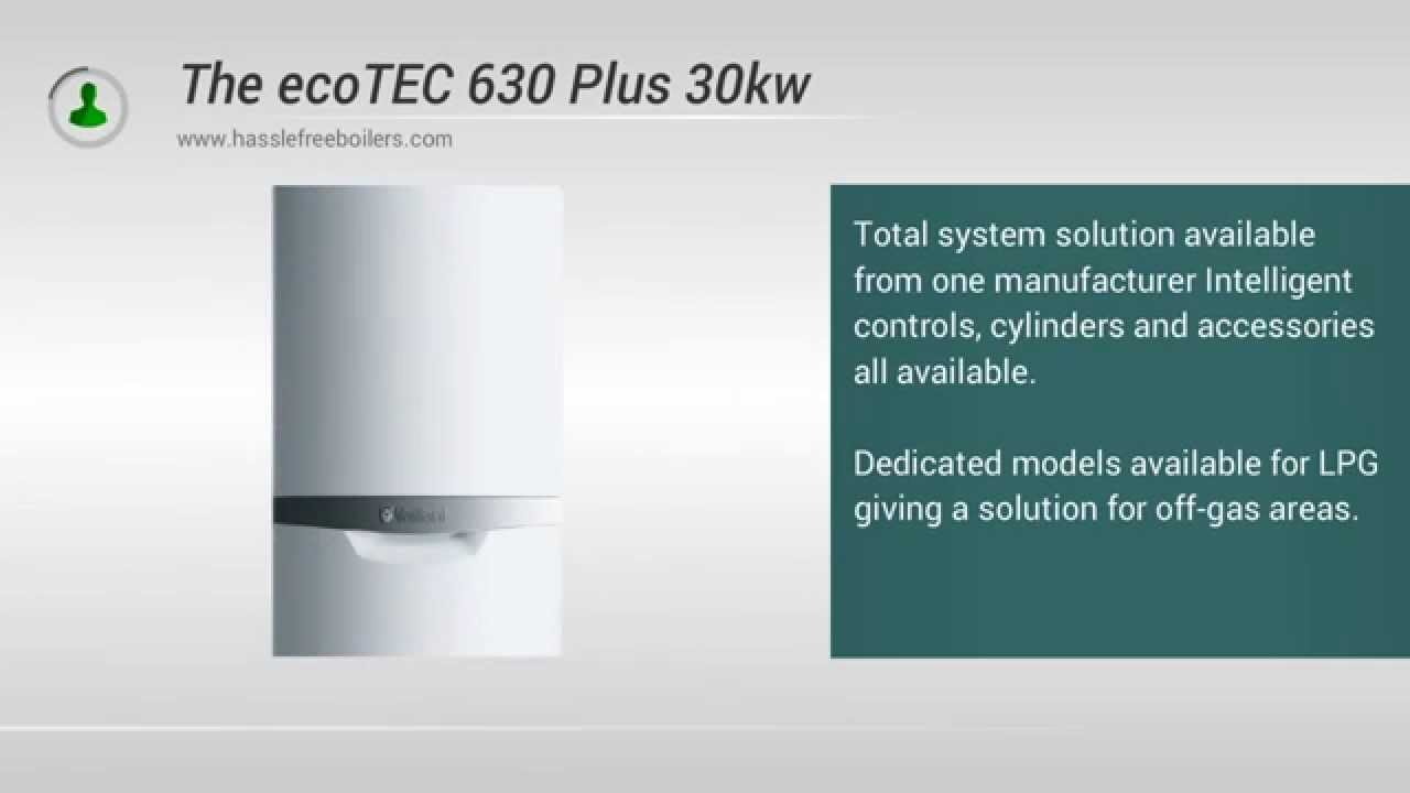 The Vaillant 630 Plus 30kw System Boiler Video Review Youtube Ecotec Wiring Diagram